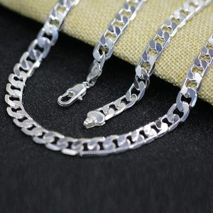 LJ&OMR 100% Authentic 925 sterling silver necklace, silver fashion jewelryintothea-intothea