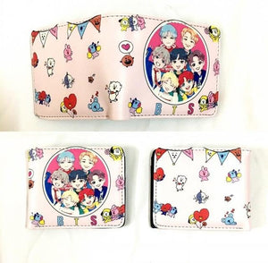 New Design Roblox Cartoon Wallet Anime Short Purse Women Fashion Handbagsintothea-intothea
