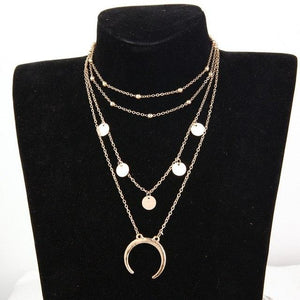 M MISM Long Chain Gold Silver Necklaces Ladies Gift Choker Girls Chicintothea-intothea