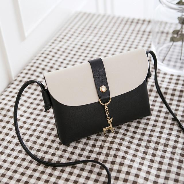 2018 New Fashion Women Messenger Bags Fawn Bag Color Shoulder Shoulder Messengerintothea-intothea