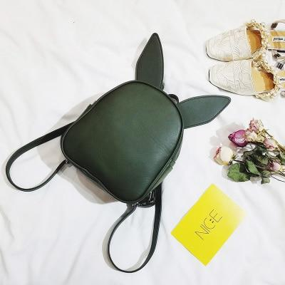 2019 small fresh mini shoulder bag with three pairs of ears canintothea-intothea