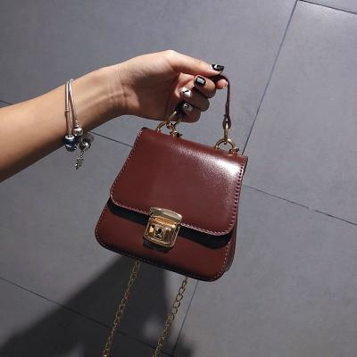 NEW Small Women Bags PU leather Messenger Bag Clutch Bags Designer Miniintothea-intothea