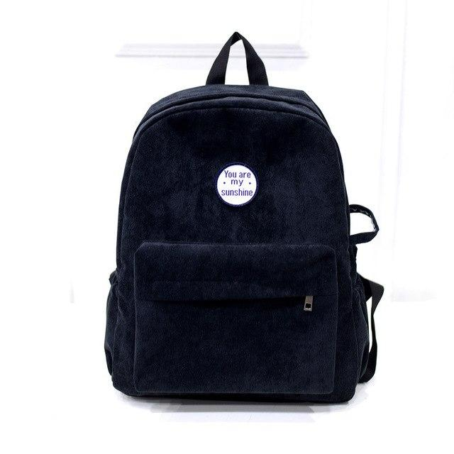 Retro Backpack For Women Girl Korean Simple Couple Mochila Escolar Women Backpackintothea-intothea