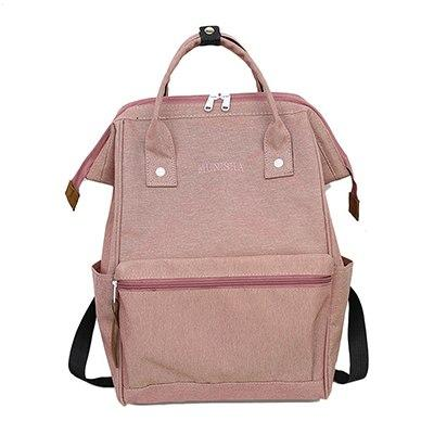 Casual Canvas Waterproof Ring School Backpacks For Women Lightweight Backpack For Teenagerintothea-intothea