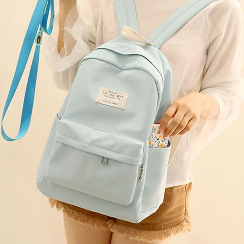 simple design oxford Korea style women backpack fashionable girls leisure bagintothea-intothea