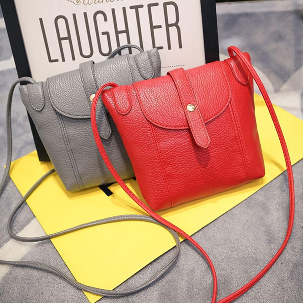 Women's PU Leather Handbag Fashion Female Small Messenger Bags New Design Womenintothea-intothea