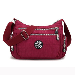 Women's Shoulder Bag High Capacity Ladies Messenger Bag Travel Women Nylon Crossbodyintothea-intothea