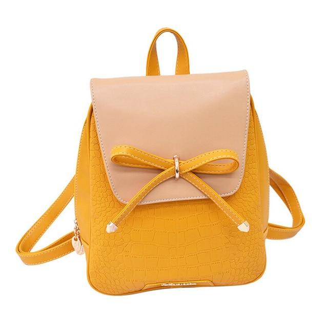 Vintage Fresh Students Backpack Female Korean Backpack School Bicycle Cute Kawaii PUintothea-intothea