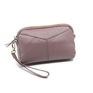 New Fashion Cow Leather Women Long Clutch Wallets Genuine Leather Lady Coinintothea-intothea