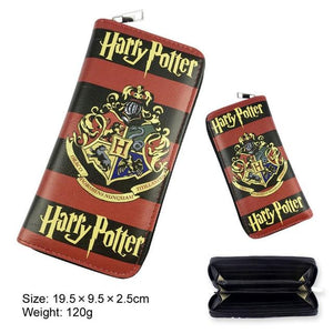 Harry Potter Hogwarts Wallets Ravenclaw Gryffindor Slytherin Hufflepuff Wallets Men Women Moneyintothea-intothea