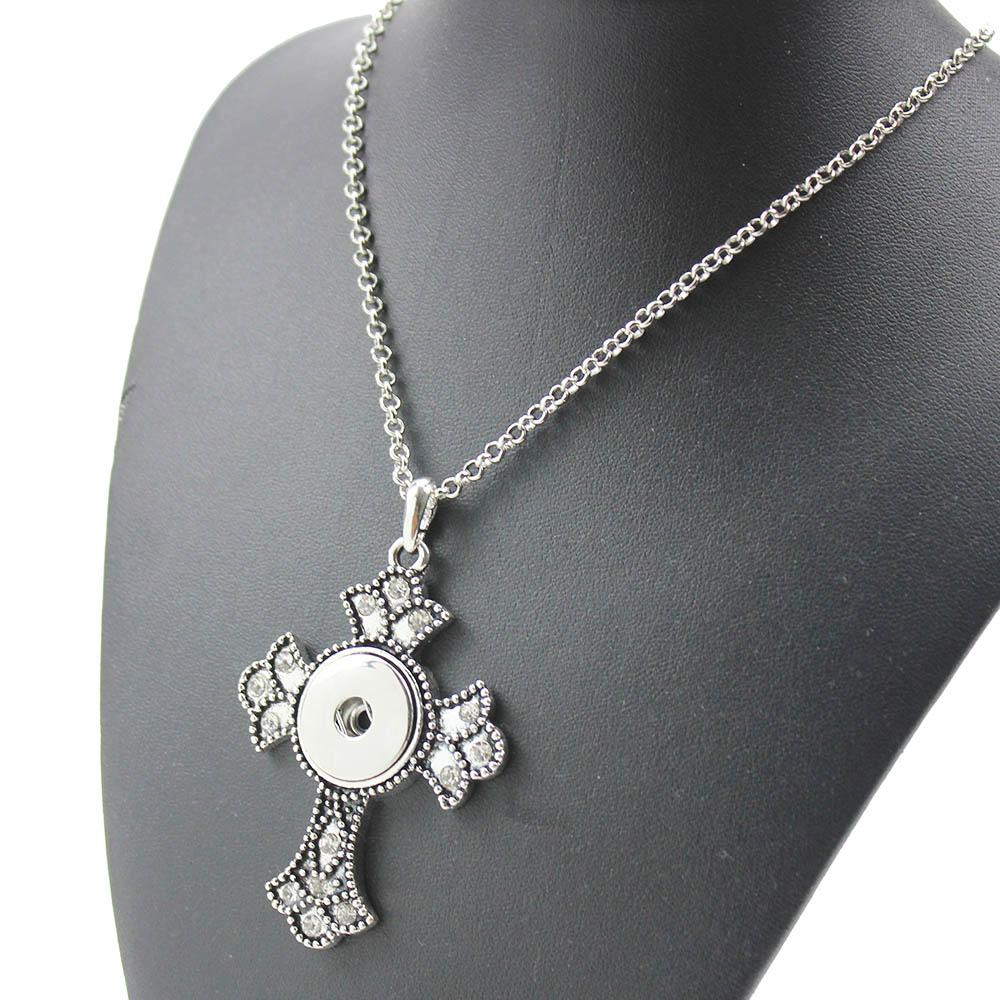 NEW Trendy Style The Bloomer Snap Necklace & Pendant With Link Chainintothea-intothea