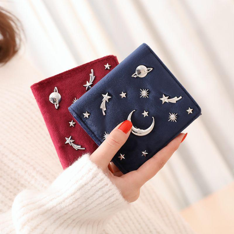 Women Wallet Female Slim Purse Short Small Long PU Leather Change Cardintothea-intothea