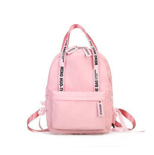 2018 Hot Sale Women Backpack Nylon Travel Bags Girls Preppy School Bagsintothea-intothea