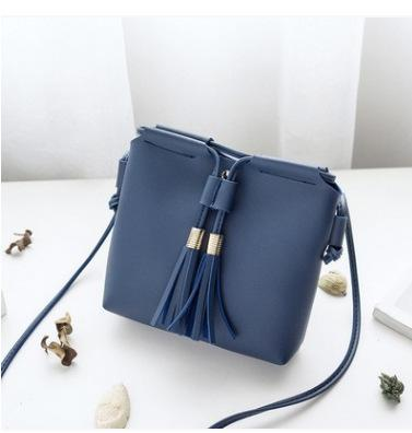 2018 Women Shoulder Bags Fashion Mini Bag With Tassel Shell Shape Womenintothea-intothea