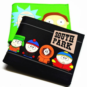 Cartoon Wallet Rick and Moti South Park Gravity Falls Teen Boy andintothea-intothea