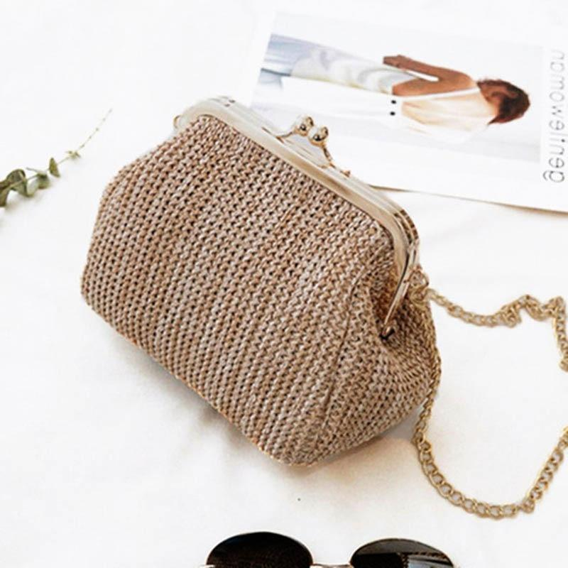 Small Crossbody Boho Bags For Women Evening Clutch Bags Hasp Ladies Handbagintothea-intothea