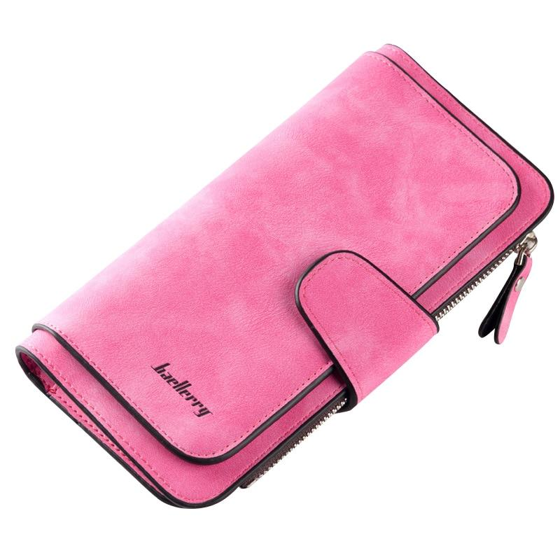Baellerry Brand Wallets Women Scrub Leather Lady Purses High Quality Ladies Clutchintothea-intothea