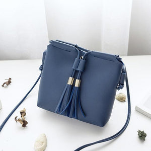 Fringe Tassel Bag Girl Small Bags for Women 2018 Pu Leather Womenintothea-intothea