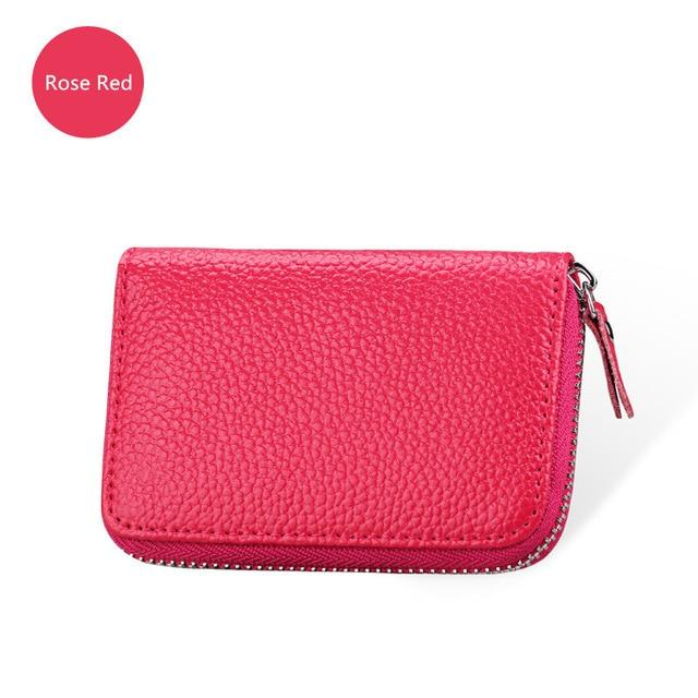 Minimalist Patent Leather Lovely Ladies Zipper Small Wallets Women Cute Purses Shortintothea-intothea