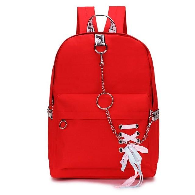 Fashion Women Backpack Female Backpack Leisure Japan Knapsack Casual Shoulder Bags Forintothea-intothea