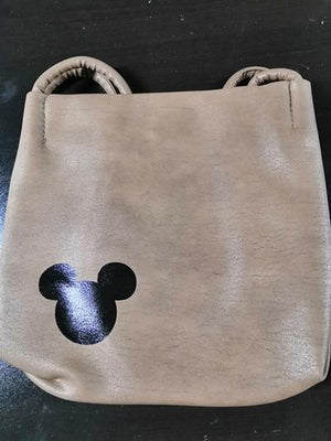 Women famous brand Mickey handbag PU Leather Organizer Small Cute Bucket Bagintothea-intothea