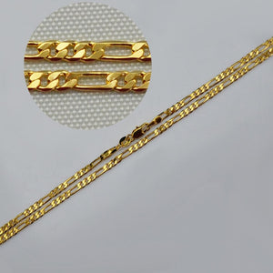 Anniyo Link Chain for Women 45cm/60cm Wholesale Gold Color Necklaces Jewelry Weddingintothea-intothea