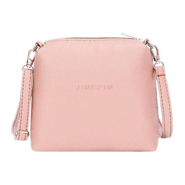Fashion Ladies Small CRossbody Handbags Portable Casual Simple Bags Women PU Leatherintothea-intothea