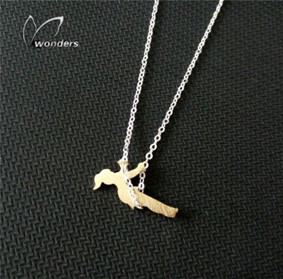 Fashion Ballet Dancing Girl Charm Necklace Sweet Female Doll Ballerina Dancer Sweaterintothea-intothea