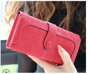 2019 Brand Women Vintage Wallet Women Purse Clutch Carteira Feminina Long Womenintothea-intothea