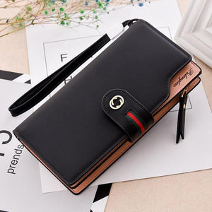 2018 New Design Leather Wallets Women Brand Purses For Woman Wallet Longintothea-intothea
