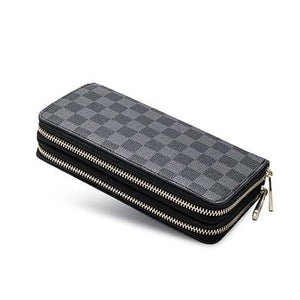 luxury women long PVC wallet and clutch purse handbags for male luxuryintothea-intothea