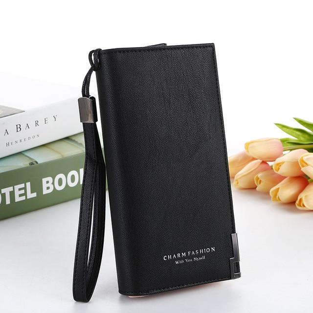 2019 NEW wallet Women Long Coin pocket purse high quality Buckle phoneintothea-intothea