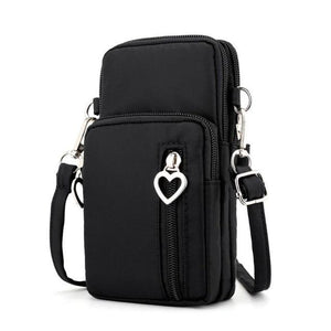 Crossbody Mobile Phone Shoulder Bag Pouch Case Belt Handbag Satchel Purse Walletintothea-intothea