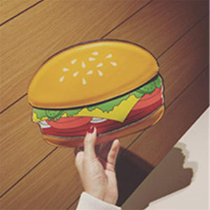 2019 Creative Style Woman Hamburger Ice Cream Cupcake PU Chains bags Cuteintothea-intothea