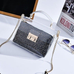 Women Messenger Bags 2018 New Fashion Female Sling Bags Party Girl Transparentintothea-intothea
