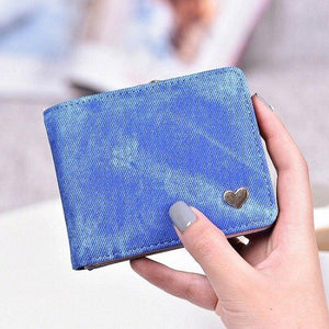 2019 Heart Decoration Clutch Wallet MultiFunction Change Purses Big Capacity Women Walletsintothea-intothea