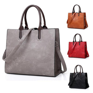 Fashion Women Bag High Capacity Women Handbags Cowhide Square Tote Women 2019intothea-intothea
