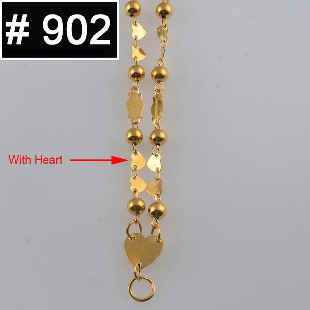 Anniyo Small Beads Necklaces Marshall Guam Haiti Chains for Women Trendy Islandsintothea-intothea