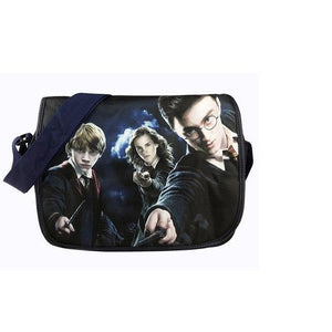 Harry Potter Hogwarts Knapsack Backpack Cute Waterproof Shoulder bagintothea-intothea
