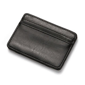Fashion Personality Coin Card Package PU Leather Creative Purse Mini Ultra-thin Walletintothea-intothea