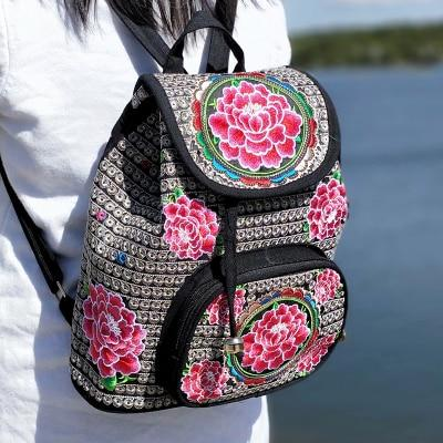 2019 Inclined bag embroidered shoulder messenger spain bag European styleintothea-intothea