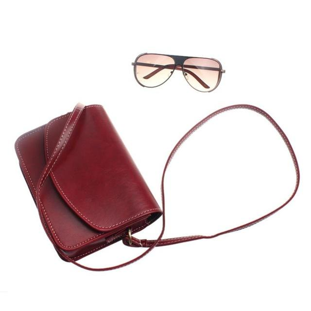 Crossbody Bags for Women leather messenger bag Package Small Sweet Wind Oneintothea-intothea