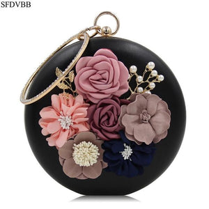 2018 New Women Bag Day Clutches Clutches Evening Flower Bags Wedding Flowerintothea-intothea