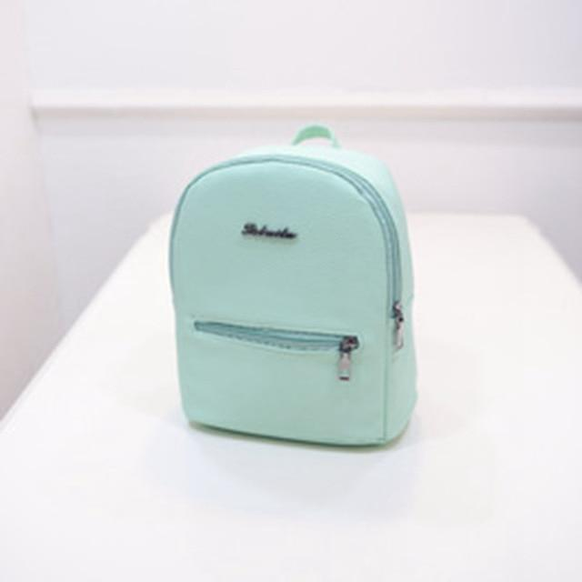 2018 New Backpack Summer Small Women Backpack Candy Mini Student Travel Backbagintothea-intothea