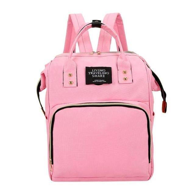 Fashion Mummy Backpacks Polyester Backpacks for Mom Maternity Nappy Bag Large Capacityintothea-intothea