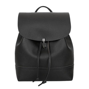 Women Backpack High Quality PU Leather Mochila Escolar School Bags For Teenagersintothea-intothea