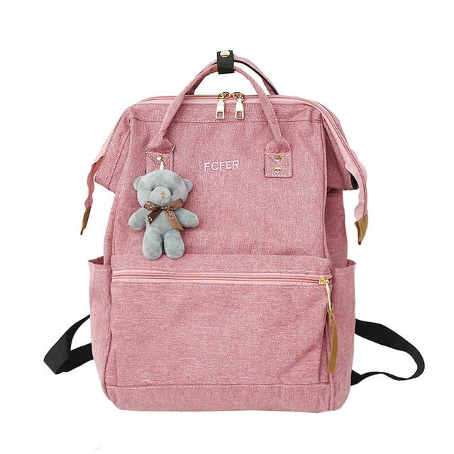 Doughnut 2018 Pink Women Girls Backpacks Kanken Students Travel Bags Casual Schoolintothea-intothea