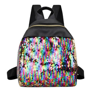 Mini Women Backpack School Bags For Teenage Girls Pu Small Backpacks Femaleintothea-intothea