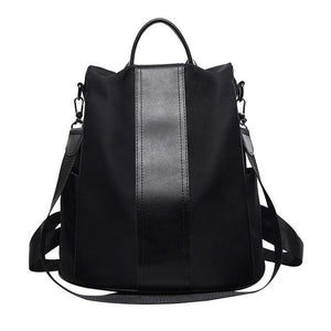 Anti Theft Backpack Women Shoulder School Bag For Teenage Girls Nylon Femaleintothea-intothea
