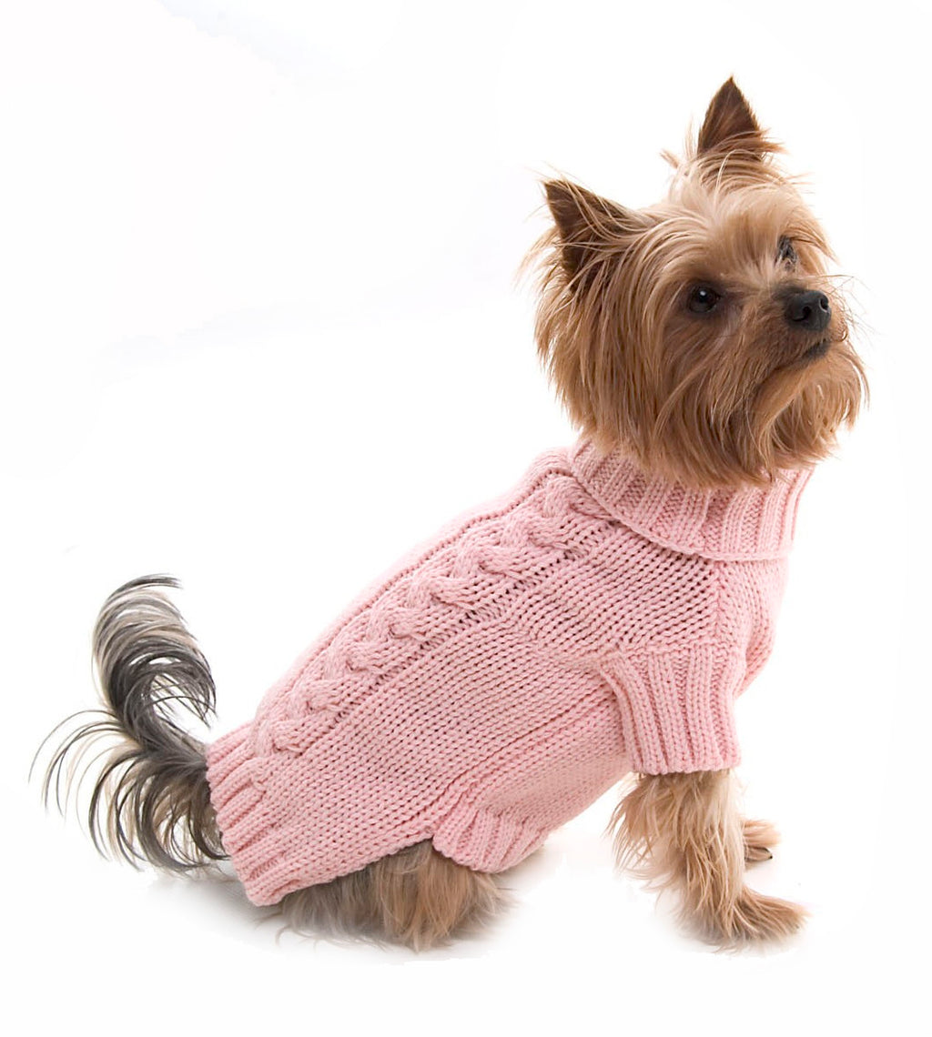 Cable Snug Dog Pullover